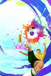 blue world cup game bóng đá poster , Trò, Chơi, World Cup hình nền