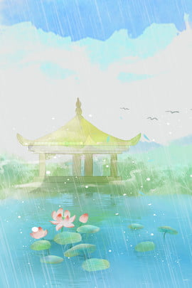 blue watercolor literary clear , Blue Sky, Clear, Watercolor ภาพพื้นหลัง