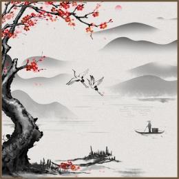 चीनी शैली पृष्ठभूमि पुरानी पृष्ठभूमि चीनी शैली स्याही पृष्ठभूमि , मुख्य, मुख्य ट्रेन से, Psd पृष्ठभूमि छवि