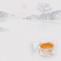 中国風の背景 中国風 ビンテージ背景 インクの背景 , 淘宝網, お茶, 中国風の背景 背景画像