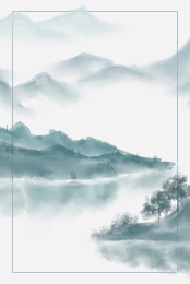 chinese style ink spring solar terms , Poster, Spring, Chinese Style ภาพพื้นหลัง