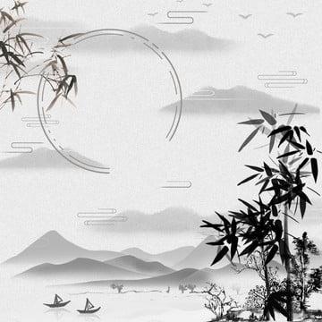 चीनी शैली पृष्ठभूमि चीनी शैली बांस चीनी फर्नीचर , Psd, तस्वीर, पवन पृष्ठभूमि छवि