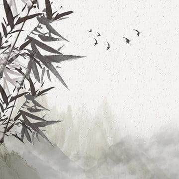 中国風の背景 インクの背景 中国風 お茶の背景 , お茶の背景, ウーロン茶, 中国風インク風景茶セットpsd層状メインマップ 背景画像
