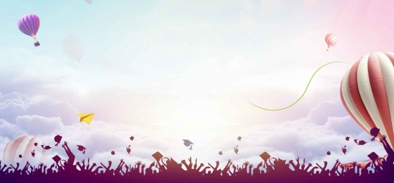 creative youth is not back poster, Graduation Ceremony, Graduation, Youth Is Not On The Scene Background image