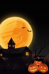 dark series halloween kinh dị dơi , Thương Mại, Âu, Mặt Trăng Ảnh nền