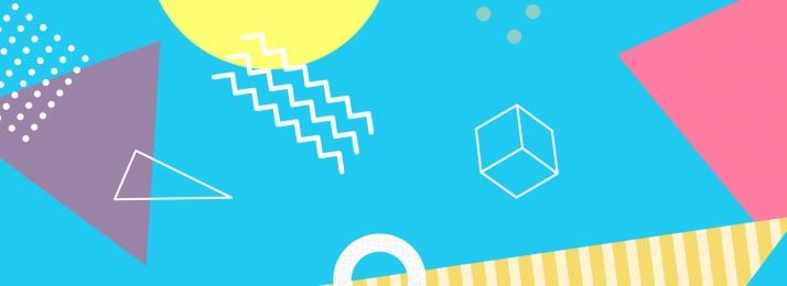 बिंदु रेखा सतह ज्यामिति, लाइनों, बिंदु, बैनर पृष्ठभूमि छवि