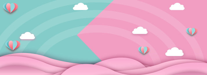 母親と赤ちゃん ピンク 風船, 母親と赤ちゃん, ダブル11,  背景画像