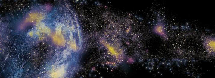 langit berbintang yang indah langit berlatar bintang latar belakang langit berbintang langit berbintang kosmik, Blue, Cosmic, Langit Berlatar Bintang imej latar belakang