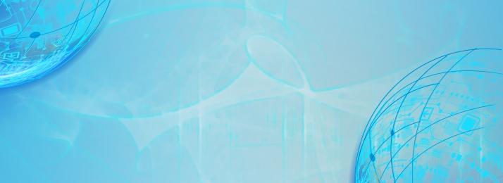 理財 科技 藍色 電商 藍色 電商 金融商務banner背景圖庫