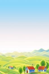 ngôi làng mơ ước đất nước tươi đẹp trung quốc hạnh phúc nông thôn mới , Nông, Nông Thôn Mới Hài Hòa, Giấc Mơ Trung Quốc Ảnh nền