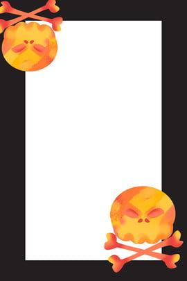 ハロウィーン 頭蓋骨 シリーズの表紙 カード , フォント, カード, 情熱 背景画像