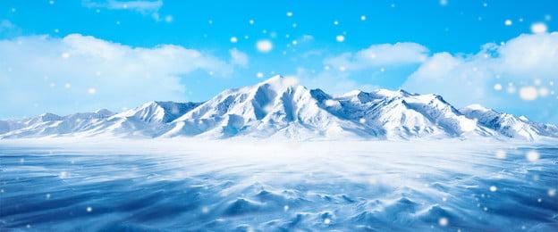 iceberg ice snow iceberg, Fresh, E-commerce, Blue Фоновый рисунок