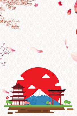 東京 大阪 日本の印象 日本旅行 , 日本の観光名所, 日本旅行のポスター, 日本の印象 背景画像