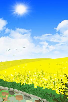 light blue spring new spring background spring , Spring, Blue Sky, Blue ภาพพื้นหลัง