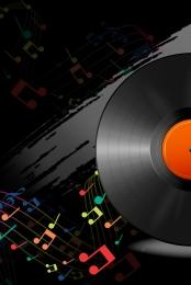 कला काला डिस्क संगीत समारोह , डिस्क, आंदोलन, ई-कॉमर्स पृष्ठभूमि छवि