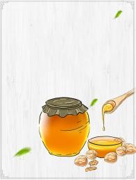 minimalist simple honey honey , Simple Honey, Honey, Honey Display Board Background image