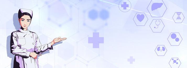 minimalistic technology medical medical banner poster background, Technology, Medicine, Medical Background image