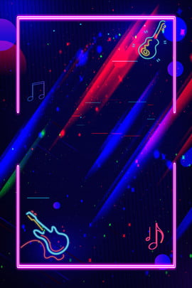 neon music board music music contest , Creative, Poster, Dream Фоновый рисунок