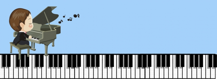 Cartoon Mushroom Flower Piano Music Background, Cartoon