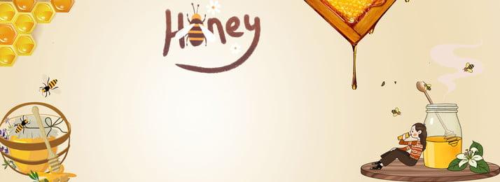 natural honey honey bees desserts, Drinks, Cartoon, Honey Imagem de fundo