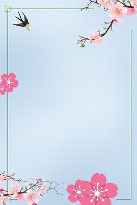 early spring new listing poster new product release flowers , Border, Flowers, Marbles ภาพพื้นหลัง