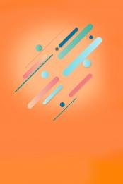 Orange gradient flat technology Offer Promotion Holiday Фоновое изображение