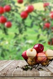 organic apple green refreshing poster , Fruit, Apple, Apple Wholesale Background image
