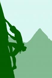 outdoor sport silhouette green background vector , Green, Minimalistic, Illustrator ภาพพื้นหลัง