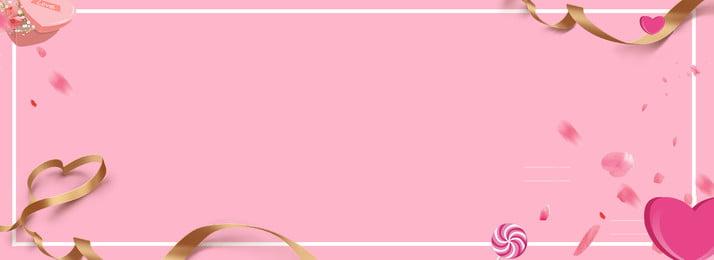 pink cute sweet full screen poster , Sweet, Banner, Poster Imagem de fundo