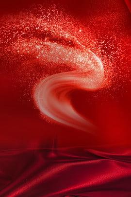 紅色 絲綢 絲帶 面膜 , 促銷, 紅色絲綢絲帶面膜產品活動促銷, 紅色 背景圖片