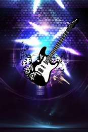 rock band college student music festival mobile phone with pictures , Music Festival, Phone, Creative Фоновый рисунок