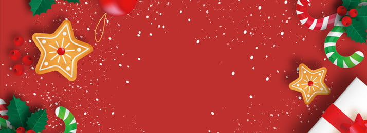 santa red festive christmas, Banner, New Year's Day, Festive Фоновый рисунок