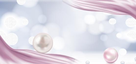 simple dream decorative jewelry, Decorative Jewelry, Dream, Poster Фоновый рисунок