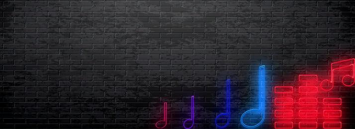 muzik pesta karnival berwarna warni, Latar, Muzik, Stave imej latar belakang
