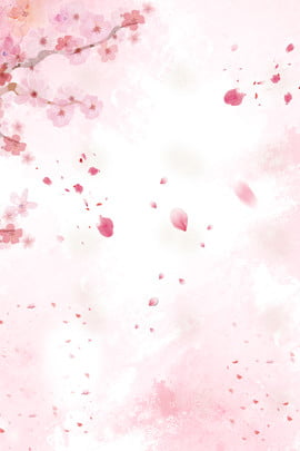 小清新 簡約 桃花 廣告 , 桃花, 廣告, 小清新 背景圖片
