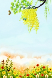 फूल उद्यान चौबीस सौर शब्द वसंत , शुरुआती वसंत, जल्दी, फूल पृष्ठभूमि छवि