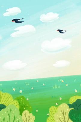 spring spring swallow landscape , Spring, Spring, Spring ภาพพื้นหลัง