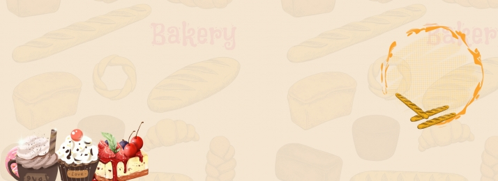 sweet delicious bread banner, Donut, Bread, Baking Background image