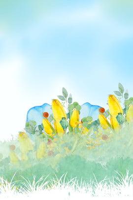 early spring spring spring solar terms spring rain , 24 Solar Terms, Terms, Twenty-four Solar Terms ภาพพื้นหลัง