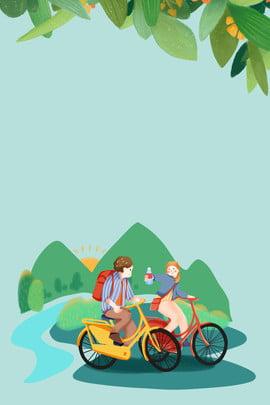 二十四節氣 踏青 春遊 春遊踏青 , 戶外, 春季, 燕子 背景圖片