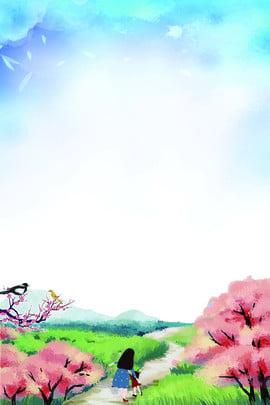 二十四節氣 傳統節氣 傳統春分 24節氣 , 二十四節氣, 春天, 傳統節氣 背景圖片