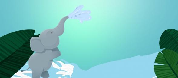 vector blue elephant spray, Vector, Blue, Background Imagem de fundo