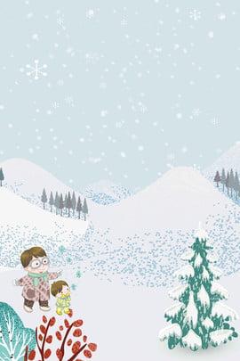 冬 冬 雪 観光地 , シロクマ, 雪, ベクトル冬の観光神社 背景画像