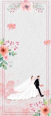 छोटे से ताजा शादी के प्रदर्शन स्टैंड शादी हाथ से पेंट गुलाब , रोल, वेडिंग, फ्लावर पृष्ठभूमि छवि