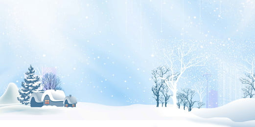 winter winter cold snow background, Winter Background, Hand Drawn, Snow Background image