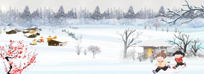 winter background hand drawn winter winter, Fantasy Snowflake, Ice World Crystal Castle, Forest Imagem de fundo