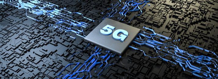 5g technology texture sci fi, Lighting, Chip, Sci-fi Imagem de fundo