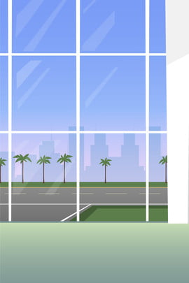 airport lounge travel travel , Travel, Fresh, Glass Windows Фоновый рисунок