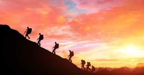 team success business finance, Sunrise, Team, Sunshine Imagem de fundo