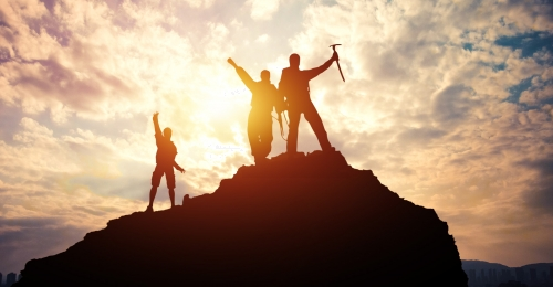 team success business finance, Beautiful, Climbing, Workplace Imagem de fundo